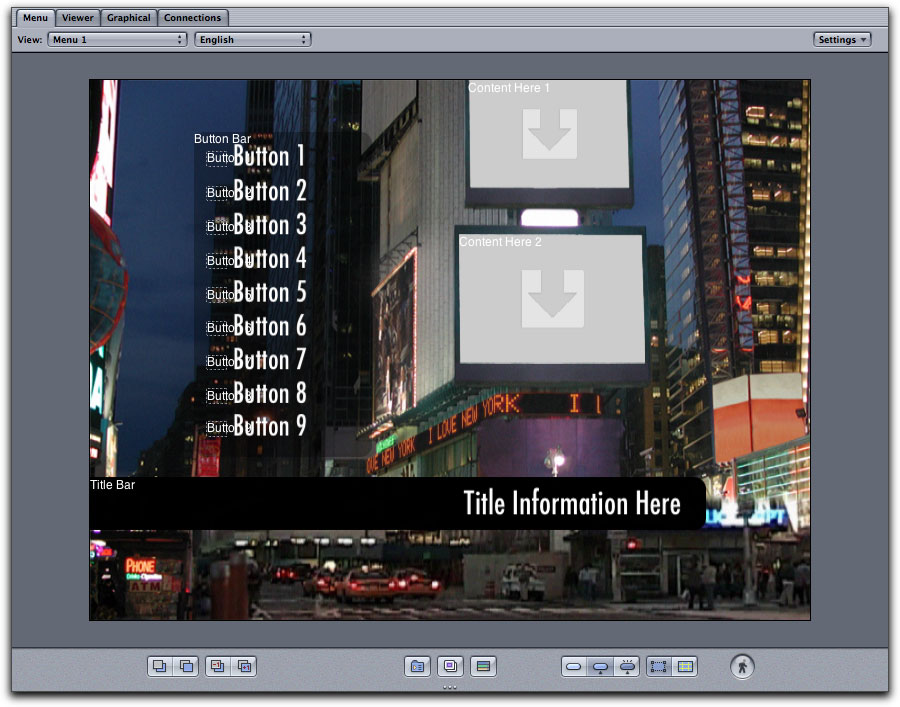 Setting up dvd studio pro for 169 this is because dvd sp provides us with both 43 and 169 templates even though we set the menu icon in graphical view to 169 when you select a menu maxwellsz