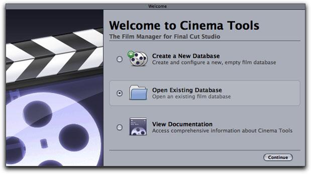 Apple Cinema Tools Overview