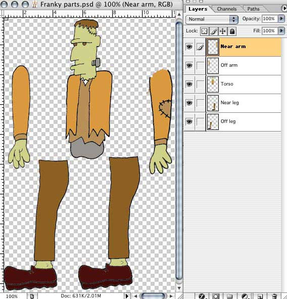 Create a paper cut-out animation with after effects.