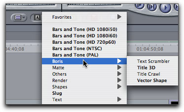 The New Boris Calligraphy Titling Tools in Final Cut Pro 5