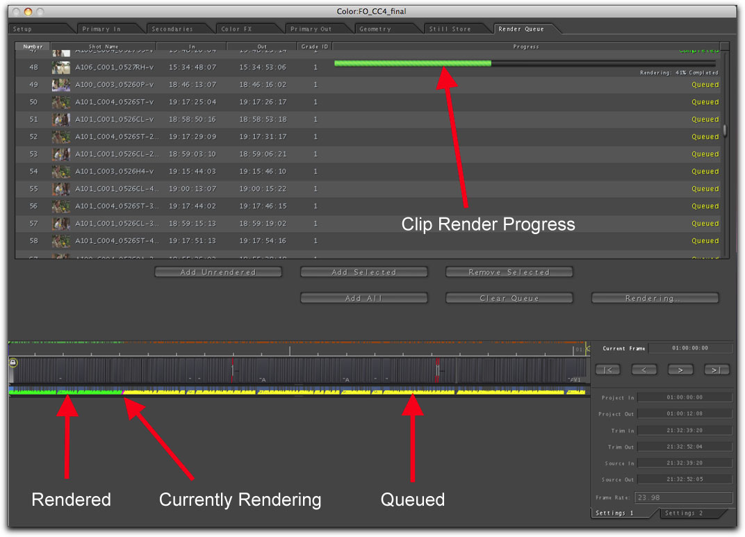 how to see export progress in final cut pro