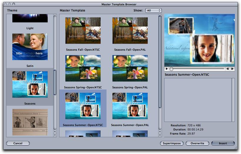Free Download Master Templates Motion Free Programs
