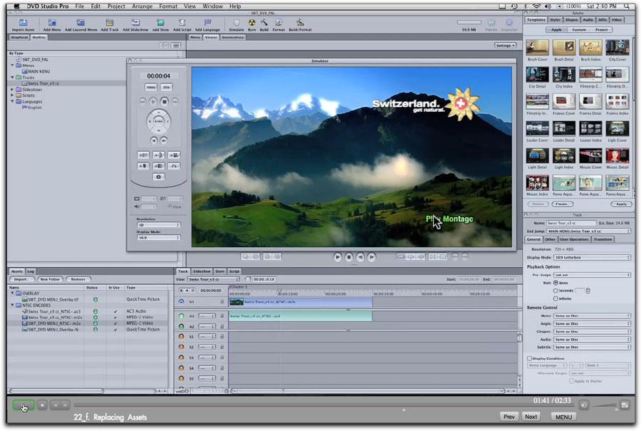 Final Cut Studio HD WorkFlow-Vol 1