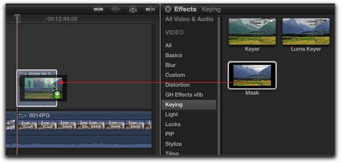 how to adjust brightness on final cut pro