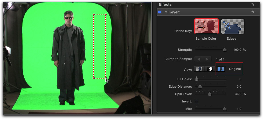 How To Do A Color Background Final Cut