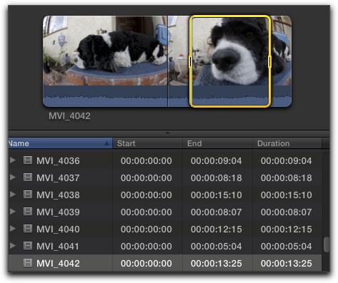 Final Cut Pro X - Keywords - Organizing Your Media
