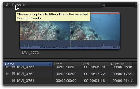 Final Cut Pro X - Keywords - Organizing Your Media