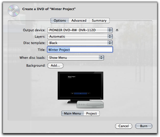 Final Cut Pro X - Share - Export