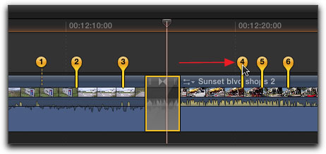how to join video clips with transitions