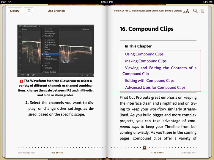 iBooks - A User's Guide