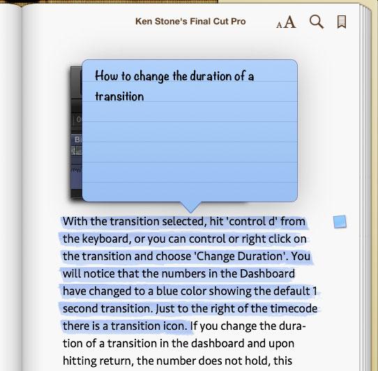 iBooks - A User's Guide
