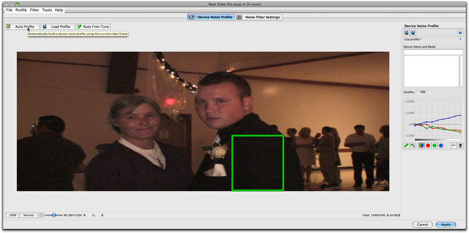 Neat Video Noise Reduction