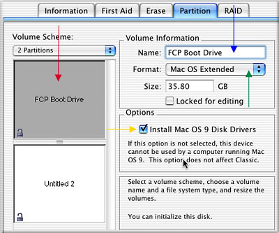 Partitioning a Hard Drive in OS X - Jag