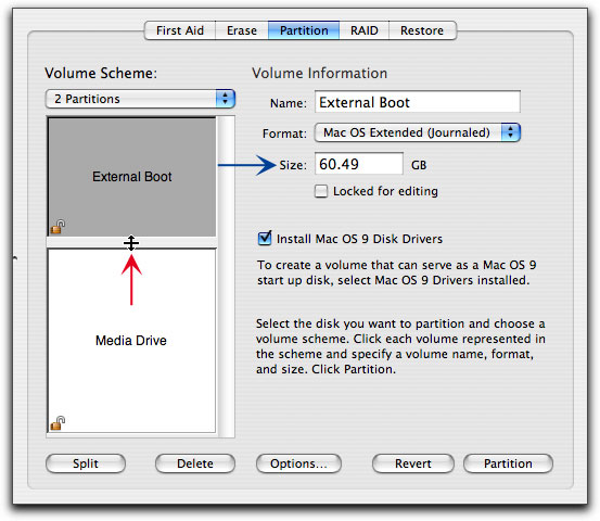 Formatting & Partitioning a Hard Drive in OS X