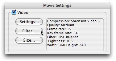 QuickTime Pro - QT Movies from FCP