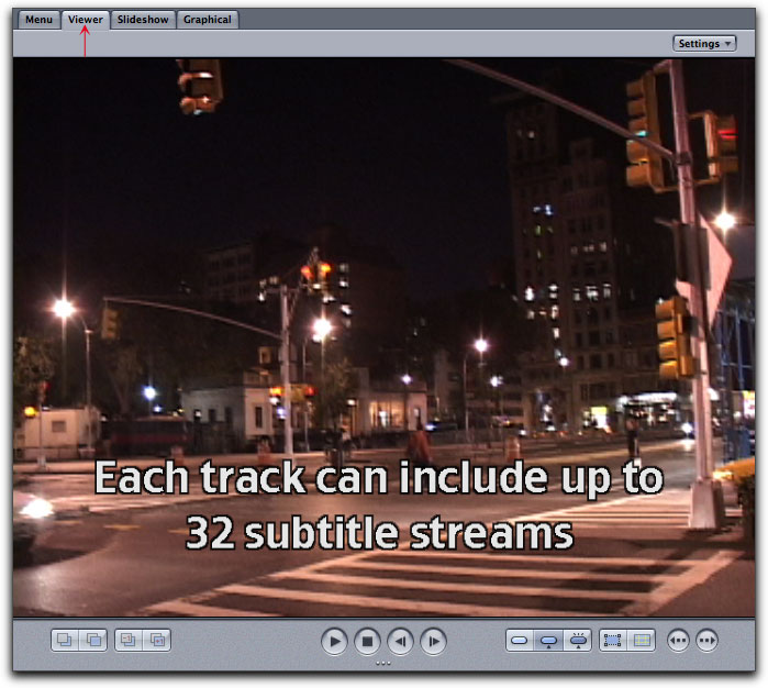 Creating Subtitles in DVD Studio Pro 4