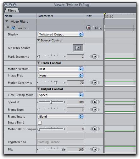 twixtor for mac final cut pro