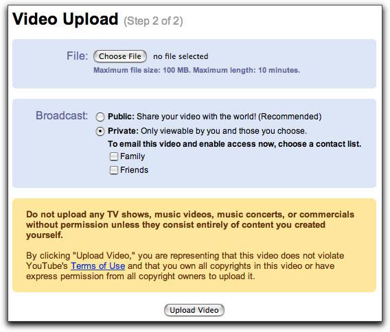 Encoding for YouTube Using Compressor